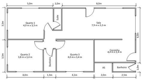 fazer plantas de casas fazer a planta da casa 98m 178 aparecida de goi 226 nia goi 225 s habitissimo