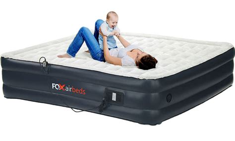 cing air bed california king raised air mattress by fox air beds w