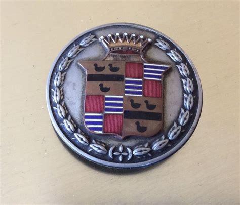 cadillac badge antique cadillac enamel emblem radiator badge ornament