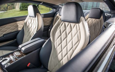 bentley continental interior back seat 2013 bentley continental gt speed first drive photo
