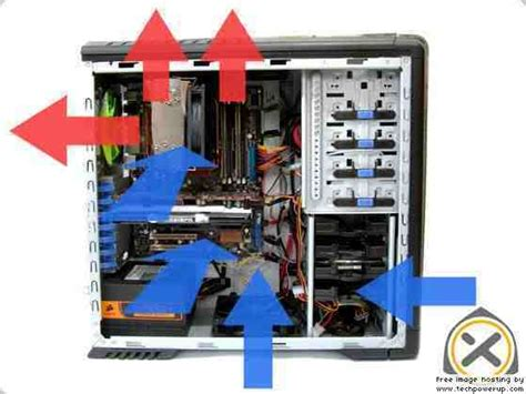 how to position fans to cool a room cooling what direction should fans be mounted user