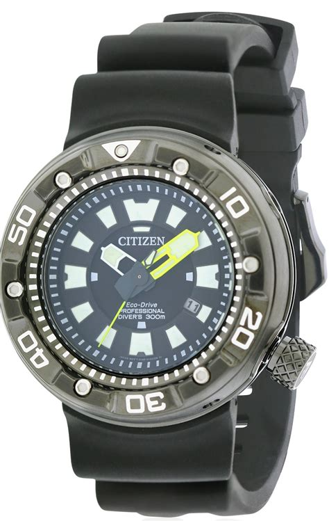 citizen dive watches citizen eco drive promaster dive rubber mens bn0175 19e