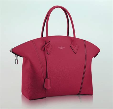 Lv New 2014 Pink Lv B2055 louis vuitton soft lockit tote bag reference guide for