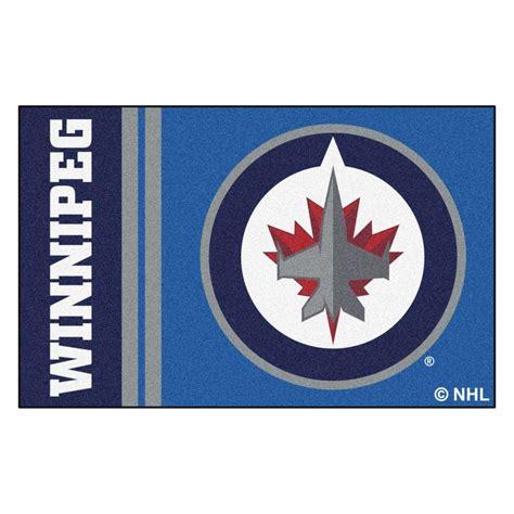 Kitchen Faucets Ottawa by Fanmats Nhl Winnipeg Jets Blue 1 Ft 7 In X 2 Ft 6 In