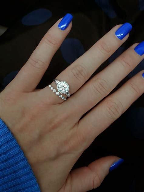 ring verragio engagement ring with 1 00 carat