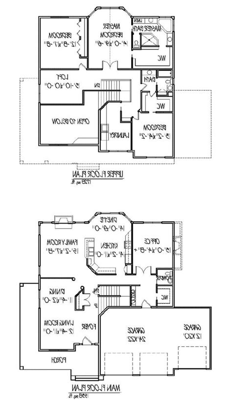 open floor house plans two story two story home plans with open floor plan inspirational modern 2 story house plans new home