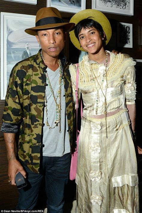 is pharell william wife ethiopian pharrell williams takes wife to vip tracey emin dinner in