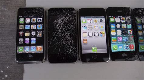 iphone generations someone bought and cracked all generations of iphone