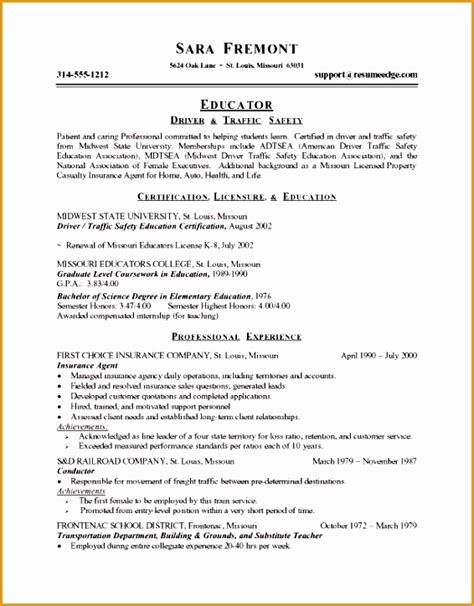 Career Resume Sle by Career Change Objective Statement 28 Images Free