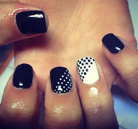 subtle nail designs women in there 40s 40 classy black nail art designs for hot women jewe blog