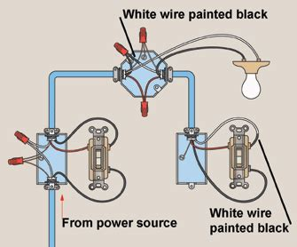 How To Wire A Light Switch by How To Wire Three Way Light Switches Hometips