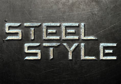 metal pattern font quick tip create a steel text effect in photoshop