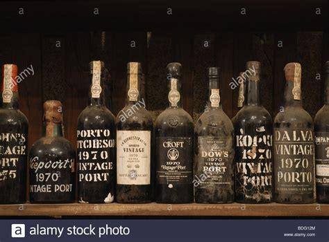 port wine bottles of vintage port wine on sale in porto portugal