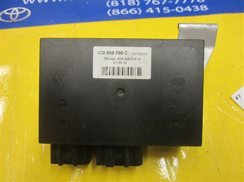 comfort controls volkswagen passat comfort control module 1c0 959 799 c