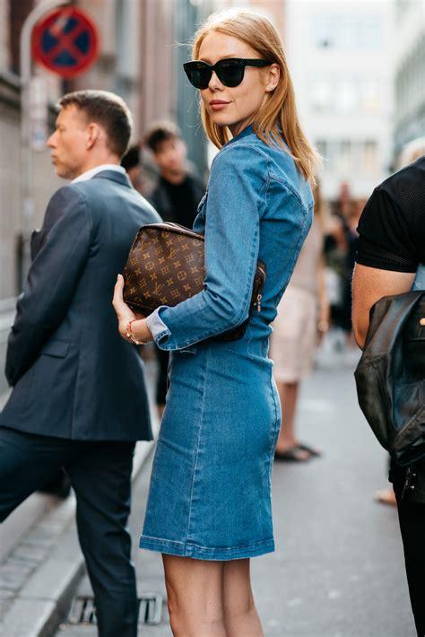 Lv Dress Denim 13 captured from copenhagen fashion week