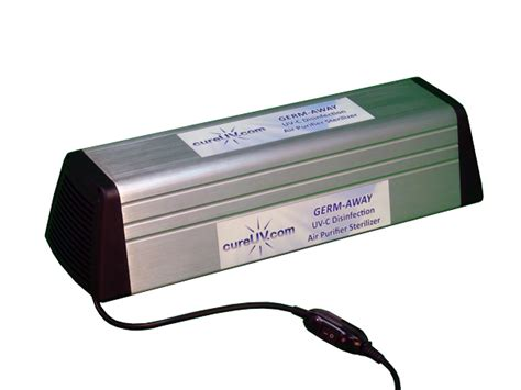 uv light air sterilizer germ away uvc disinfection uv light air purifier sterilizer