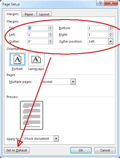 what are the standard margins for a word document quora