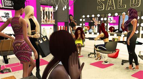 sims 4 cc beauty salon the sims 4 salon tumblr