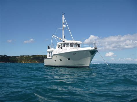 motor boats for sale in europe five affordable trawlers under 40 feet boats