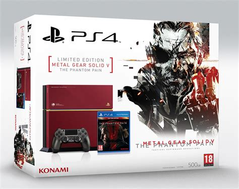 metal gear solid ps4 console metal gear solid 5 limited edition and black ps4