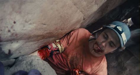 rock climber that cut off his arm movie project 127 hours