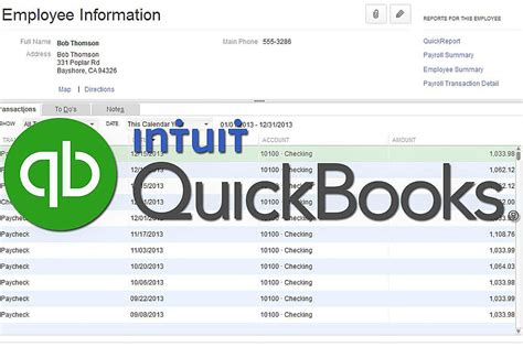 quickbooks tutorial books quickbooks reports employee and payroll reports
