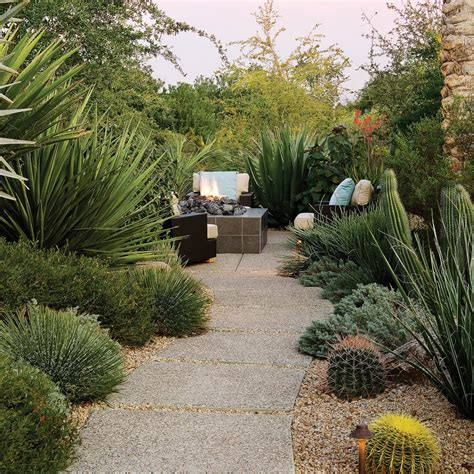 bold furnishings southwest backyard ideas sunset