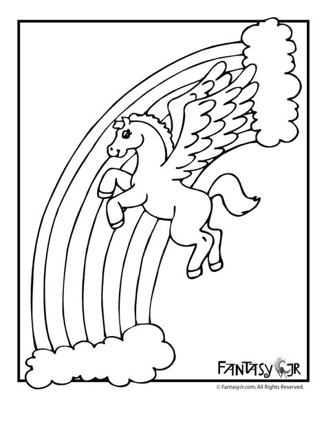 pegasus coloring pages for kids az coloring pages