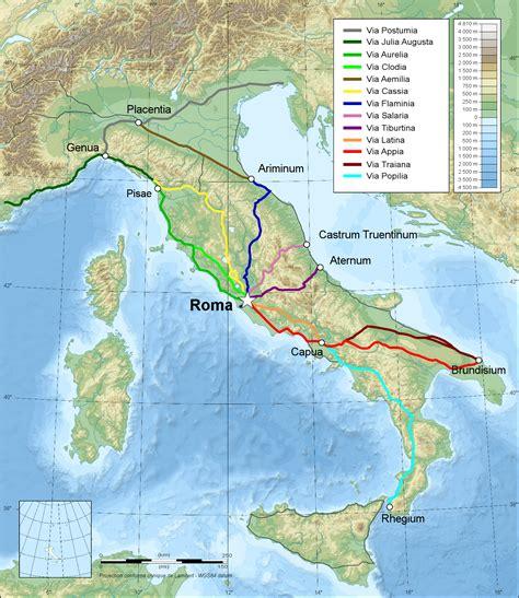 rome italy map italy map