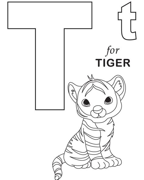 tiger t coloring page tiger coloring pages coloringsuite com