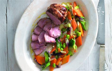 cucinare scamone ricetta scamone di vitello con ratatouille la cucina