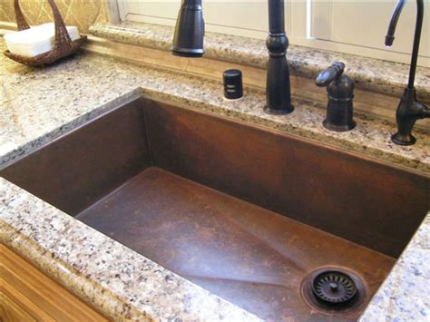 kitchens with copper sinks applying copper kitchen sinks for best kitchen sink