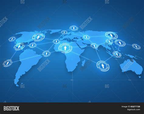 International Mba Technology by Global Business Social Network Image Photo Bigstock