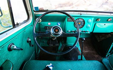 willys jeep truck interior 1962 willys pickup information and photos momentcar