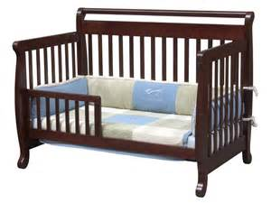 Convertible Baby Crib Davinci Emily 4 In 1 Convertible Baby Crib In Cherry W Toddler Rail M4791c