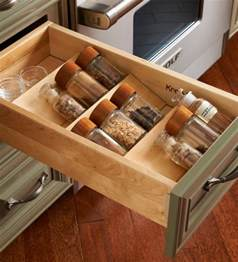 Kitchen Spice Storage Ideas by 35 Functional Kitchen Cabinet With Drawer Storage Ideas