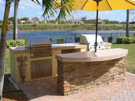 Backyard Bar And Grill Park Outdoor Kitchen Image Gas And Charcoal 171 Backyard Design