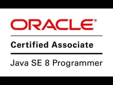 Java Pattern Se8 | java se8 tutorial preparation for oca exam 1z0 808