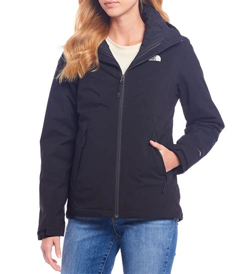 north face waterproof hooded triclimate jacket dillards