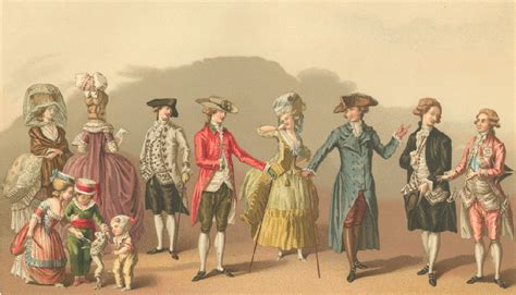 18th Century French Clothing | french fashions 1700 1789