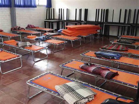 imagenes de albergues temporales albergues temporales en cdmx por el sismo de 7 1 d 243 nde ir