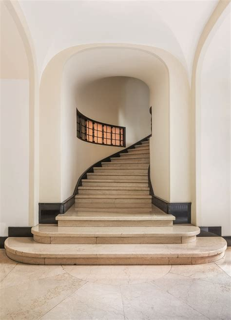 interiors inspiration  milans marble clad hallways