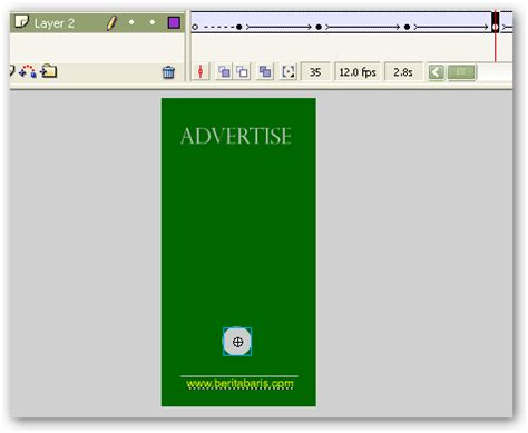 Membuat Iklan Dengan Macromedia Flash | membuat iklan gambar bergerak dengan macromedia flash