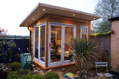 how to build a backyard office outdoor office office pinterest