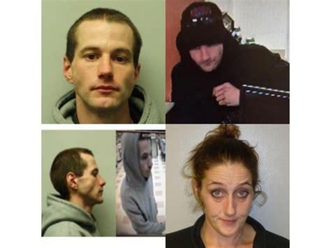 manhunt underway for credit union robbery car