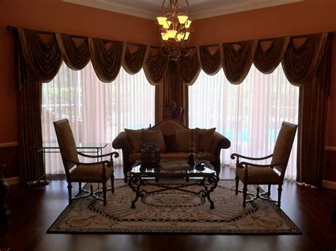 formal living room window treatments dramatic formal living area traditional window