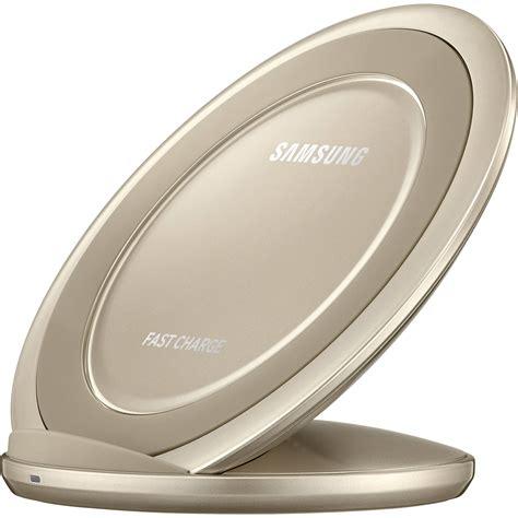 Charger Mobil Fast Charging Samsung samsung fast charge wireless charging stand gold
