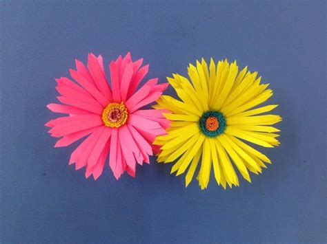 flower design using colored paper how to make paper flower easy origami flowers for