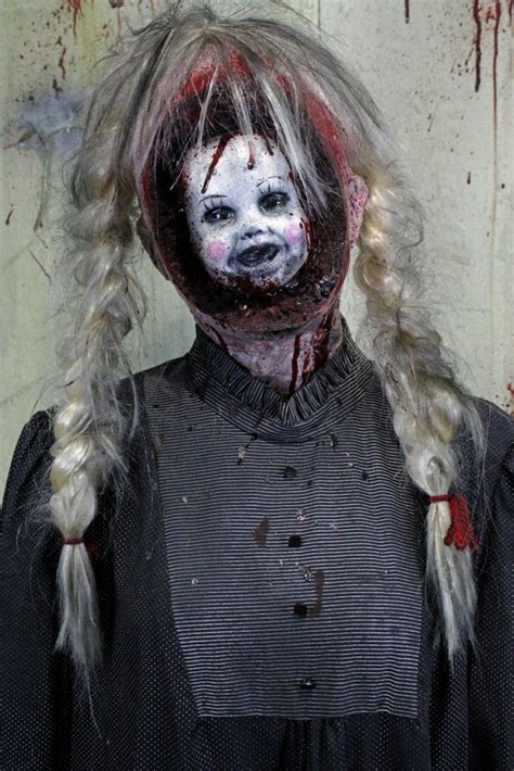 haunted doll prop creepy props creepy collection haunted house