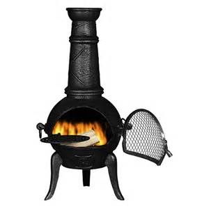 Wrought Iron Chiminea A Beautiful Cast Iron Chiminea A Beautiful Space